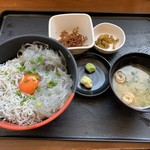 大洗町漁協 かあちゃんの店 - 2食丼定食
