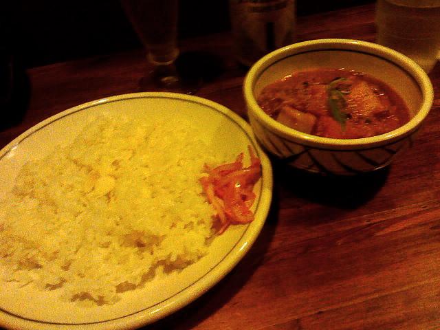 香菜軒 - 野菜カレー