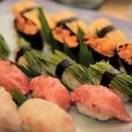 すし匠五条 - シメのお寿司も美味しかったです。