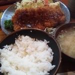 福よし - ロースカツ(1,230円)
