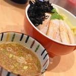 中華そば ムタヒロ - 煮干特製つけ麺(1,030円)2019年7月