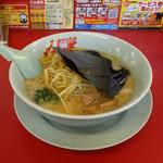 山岡家 - 常陸大宮店 醤油ラーメン650円 + 白髪ネギトッピング160円