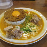 シシカリ - 料理写真:肉味噌キーマスペシャルカレー