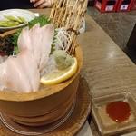 養老乃瀧 - ハマチ刺身