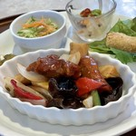 浜木綿 - 週替わりランチの酢豚
