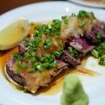 恵比寿和顔 - 和牛タタキおろしポン酢