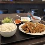 モク モク - 料理写真:油淋鶏定食