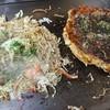 Fukui - 料理写真:焼きそばとお好み焼き