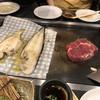 英福 - 料理写真:こんな感じで焼きます