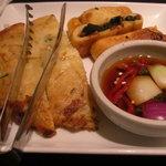 食楽苑 金魚 - チヂミ2種
