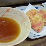 にしの - 生姜の天ぷら160円