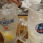 清水家 錦 - 塩レモンサワー