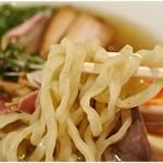 麺や 庄の gotsubo - ムッチムチな太麺。