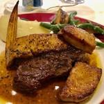 112544303 - 2019.6.  三重県 三重牛 A5ランクランプ肉のステーキ フォワグラ添え トリュフソース