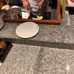 京都東急ホテル - オムレツはライブキッチン
