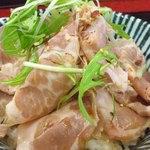 中村屋 - チャーシューたたき飯