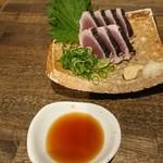 日本酒食堂SO-KEN - カツオの造り