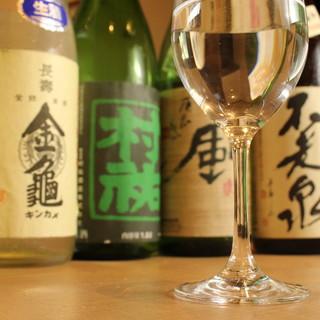 """界隈ではトップクラスの品揃え◆お気に入りが見つかる""""日本酒"""""""
