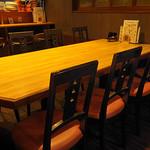うまうま di mare - 大テーブル