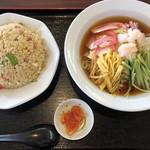 台湾料理 弘祥 - 料理写真:中華冷麺+炒飯880円税込