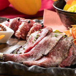 「森の姫牛」をはじめ国産牛を使った絶品揃いの創作料理をお届け