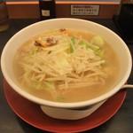 日高屋 - 料理写真:野菜たっぷりタンメン(麺大盛)