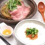 麺物語 つなぐ - つけ麺(塩)