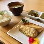 ジオカフェ - 焼きサバ定食600円