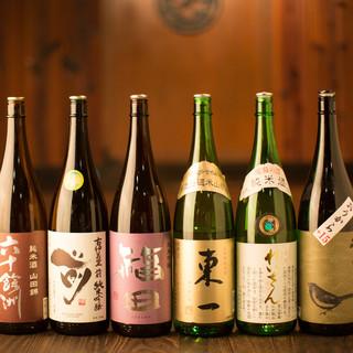 九州は焼酎だけじゃない!こだわりの日本酒も豊富に取り揃え◎