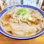 112570296 - 太麺チャーシューメン