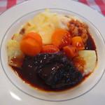 パザパ - 牛ほほ肉赤ワイン煮