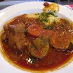 パザパ - クスクスとラム肉