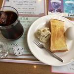 ドルチェ - 料理写真:アイスコーヒー、モーニング