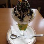キャノン - 料理写真:チョコレートパフェ 550円 (2019.7)