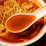 マレーシア家庭料理 J kitchen - 辛さの中にエビのうまみが広がります
