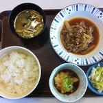 11258159 - おろしポン酢牛皿定食 440円