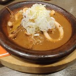 養老乃瀧 - イカ胆みそ焼
