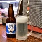 北海道料理 三平 - 流氷ドラフト@800円