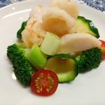 古月 - 海鮮の2種炒め物