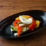 自家製ジャーマンピクルス Homemade German Pickles