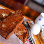 レッドサン - 黒糖のトーストがまた美味しい♪