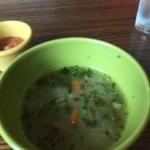 MUCHO MODERN MEXICANO - スープ