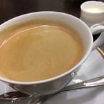 資生堂パーラー - 「ホットコーヒー」! 器の美しさも大切ですね。