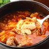 明洞純豆腐 - 料理写真:名物★明洞スンドゥブ