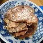 居酒屋 朝次郎 - あら炊き・・・味付けは薄いですが、意外に量があります。