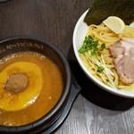 ゴル麺。 - 黄金つけ麺