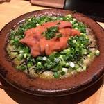 shinjukugyoentempurakushiyamamotoya - 焼きポテトサラダ磯の香り