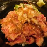 Izakayaninjayashikininjakyassuru - この世で1番美味しい 松阪牛丼(A5ランク)のアップ/平日ランチ限定