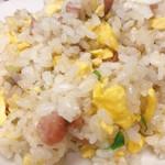 めいりん - 焼き飯¥500 美味しい鶏ガラスープ付き