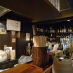 屋台ぎょうざ阿間川 - 店内
